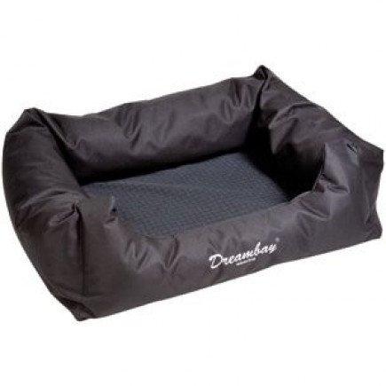 Hondenmand Dreambay zwart weaving