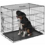 Hondenbench draadkooi 2 deurs